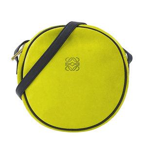 LOEWE Shoulder Bag Ladies Suede Light Green Pochette