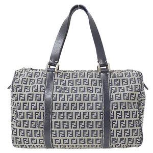 FENDI Zucca pattern zucchino handbag ladies canvas 2305.16327.018