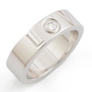 CARTIER K18WG ring diamond love LOVE  ladies K18 white gold