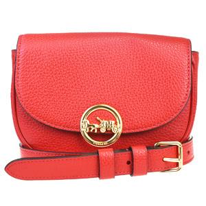Coach Bum Bag Pouch Leather Fanny Pack Blue