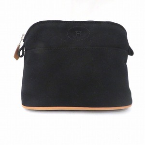 Hermes Fool to Bored Pouch PM Black Ladies Bag