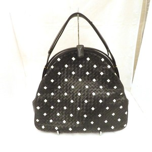 Bottega Veneta Black White Bag Shoulder Ladies