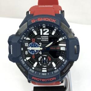 G-SHOCK ジーショック CASIO カシオ 時計 GA-1100-2A グラビティマスター スカイコックピット パイロット クォーツ メンズ ワールドタイム