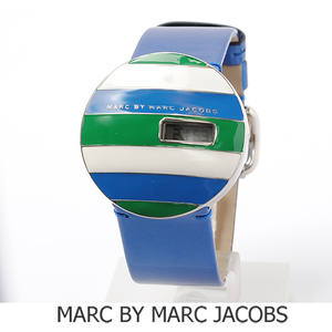 Marc by Marc Jacobs Steel Leather Quartz Unisex Watch MBM2039