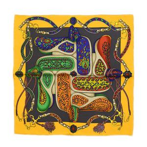 Hermes Carre 45 Festival of Amazones Silk scarf