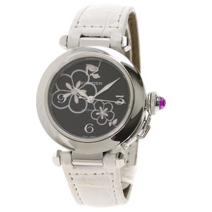 CARTIER Pasha C Winter Flower 2007 Christmas LTD Watch W3109699
