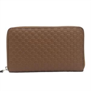 Gucci MicroGuccissima 391465 Unisex  Calfskin Wallet Brown