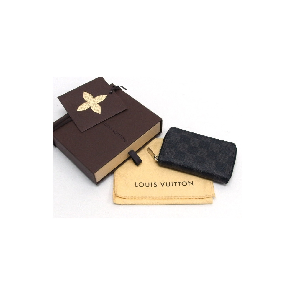 Louis Vuitton Damier Graffit Zippy Coin Purse