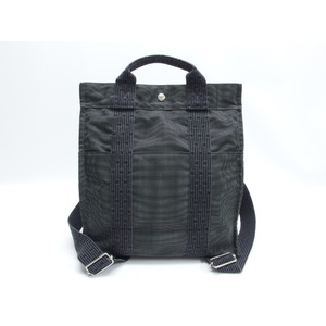 Hermes Ale Line Ad MM Backpack Gray
