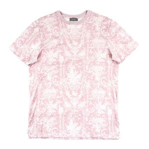 Christian Dior Dior DIOR 2019 summer collection cool neck cut and sewn overall pattern Kim Jones men's XS pink