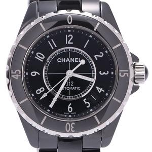 CHANEL J12 38mm H0685 Men's Black Ceramic Watch Automatic Dial