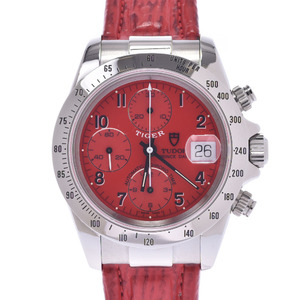 TUDOR Prince Date Tiger Steel Leather Automatic Mens Watch 79280P