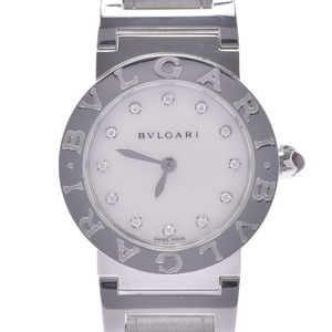 BVLGARI Bvlgari 12P Diamond BBL26S Ladies Watch Quartz Shell Dial