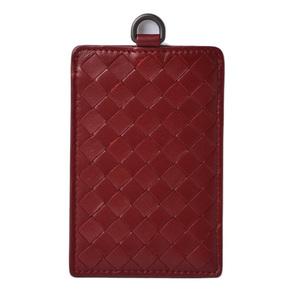 Bottega Veneta Card Case Pass Intrecciato Nappa BORDEAUX 415855 V001N 6337