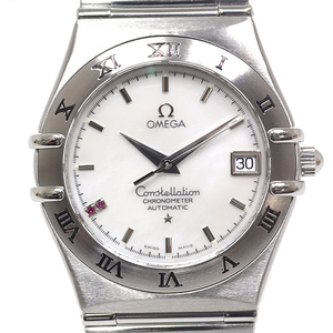 OMEGA Constellation Ruby MOP Dial LTD Edition Steel Automatic Mens Watch 1516.76