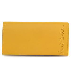 Paul Smith Receipt Story Bi-fold Wallet Leather Flap Perforated Punching