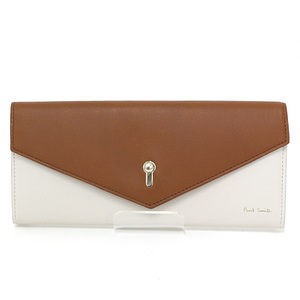 Paul Smith Keyhole Envelope Long Wallet Leather
