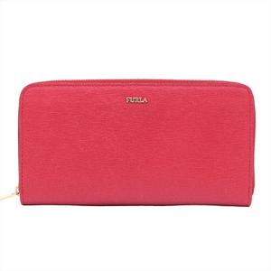 Furla Women's Leather Long Wallet (bi-fold) Red Color