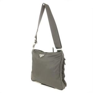 Prada PRADA NERO Black Nylon Shoulder Bag Ladies Men's