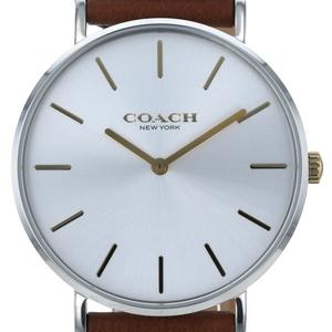 コーチ COACH ビックフェイス シグネチャー CA.120.7.14 クォーツ ホワイト文字盤 メンズ 時計