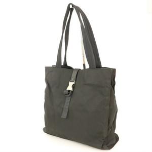 Prada PRADA Black NERO Tesuto Nylon Handbag Ladies Men