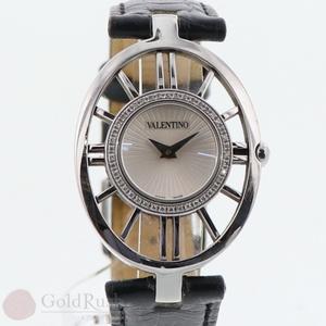 バレンチノ(Valentino) バレンチノ ダイヤベゼル レディース 時計 レザーベルト