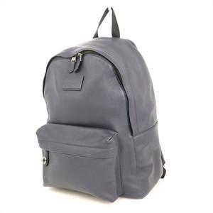 Coach COACH Blue Cowhide Rucksack Men 72320 Campus Bag Pack Mens Womens