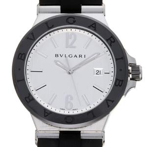 BVLGARI Diagono Ceramic Steel Automatic Mens Watch DG42SC