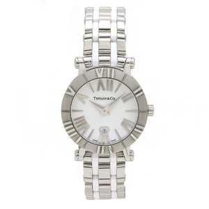 TIFFANY Atlas Ceramic Steel Quartz Ladies Watch Z1300.11.11A20A41A