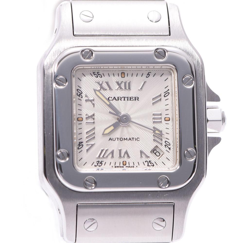 CARTIER Santos Galbee Steel Automatic Ladies Watch W20044D6