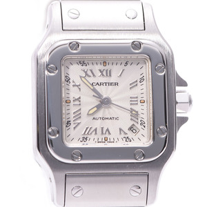 CARTIER Santos Galbee Steel Automatic Ladies Watch W20044D6