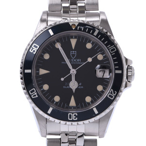 TUDOR ROLEX Prince Oyster Date Submariner Steel Watch 76000