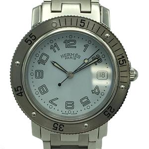 HERMES Hermes Clipper Diver Watch Boys Quartz Stainless Steel CL7.710