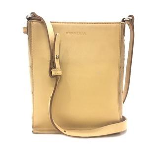 Burberry London Shoulder Bag Beige Pochette