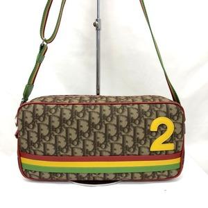 Christian Dior Shoulder Bag Trotter No.2 Rastaline 05-MA-0034 Rasta Color Crossbody Ladies