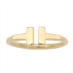 Tiffany Tiffany T Wire Yellow Gold (18K) Elegant Band Ring Yellow Gold