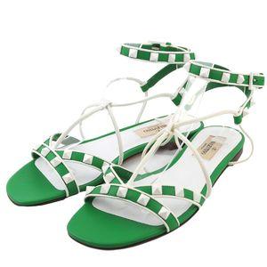 VALENTINO GARAVANI Lock stud Ankle Strap Sandals 35.5