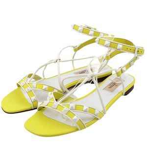 VALENTINO GARAVANI Lock studs ankle strap sandals 36