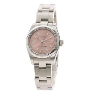 ROLEX Oyster Perpetual 176200 Z Serial Steel Automatic Ladies Watch