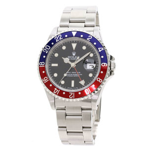 ROLEX GMT Master 16700 N Serial Steel Automatic Mens Watch