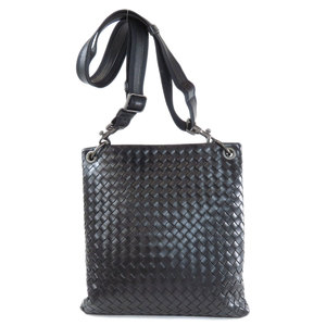 Bottega Veneta Intrecciato Shoulder Bag Calf Men's