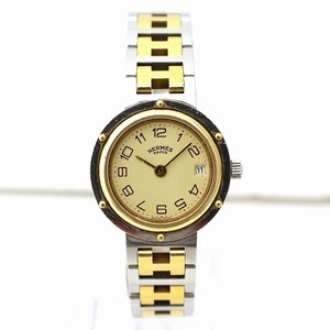 Hermes Clippers Quartz Watch Ladies
