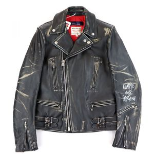 Comme des Garçons Comme des Garcons / Lewis Leather COMME GARCONS 2012AW Double Riders Jacket Aoyama Limited Lightning Men's 38