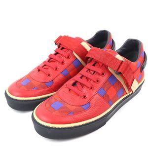 Louis Vuitton 12SS Masai Line Damier Check Freshman Sneakers Men's 5