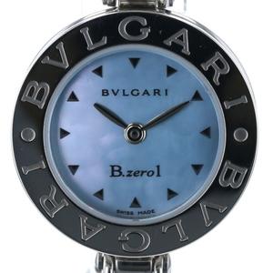 Bulgari BVLGARI B-ZERO1 Bangle BZ22S Quartz Blue Shell Dial Ladies Watch