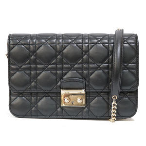Christian Dior Shoulder Bag Chain Leather Women