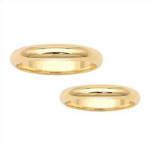 カルティエ(Cartier) 1895 ウェディング K18イエローゴールド(K18YG) 婚約&結婚式用 ウェディングリング イエローゴールド(YG)