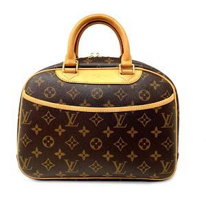 Louis Vuitton Trouville Handbag Gold Hardware Monogram M42228