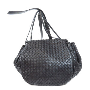 Bottega Veneta Intrecciato Shoulder Bag Leather Women