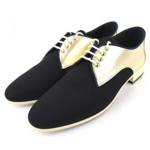 Chanel Leather Shoes Oxford Bicolor Women's 38C